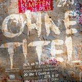 Ohne Titel - die Kunstnacht Kempten 2015 in der Galerie Kunstreich