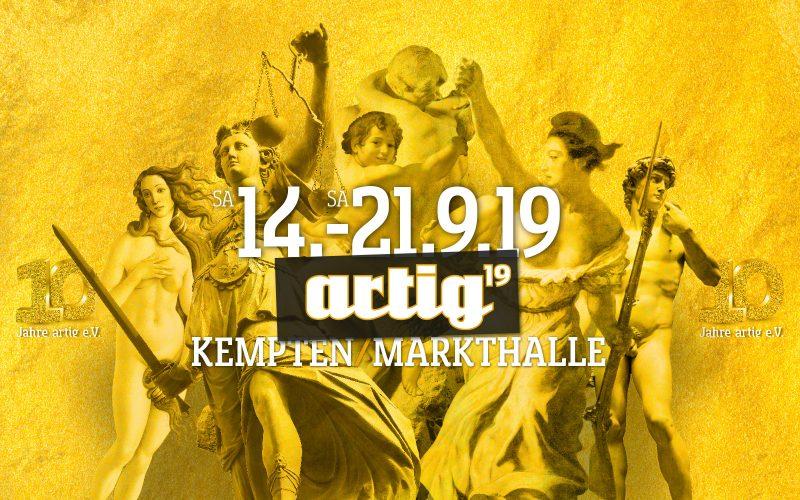 artig'19 Kunst- und Kulturfestival Kempten