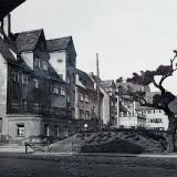 Hochbunker St.-Mang-Platz Kempten. Foto: Alfred Weitnauer, 1943 / Stadtarchiv Kempten