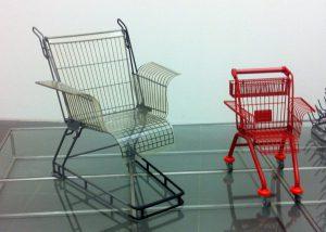 """""""Consumer's Rest"""" und """"Short Rest"""" von Stiletto (in der Kunsthalle Nürnberg)"""