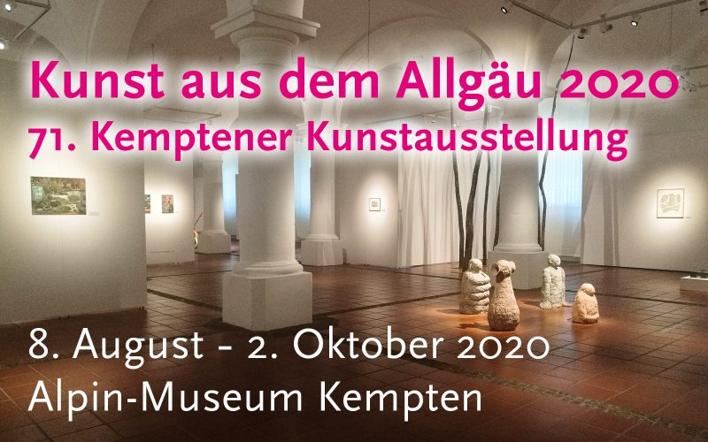 71. Ausstellung zum Kemptener Kunstpreis 2020