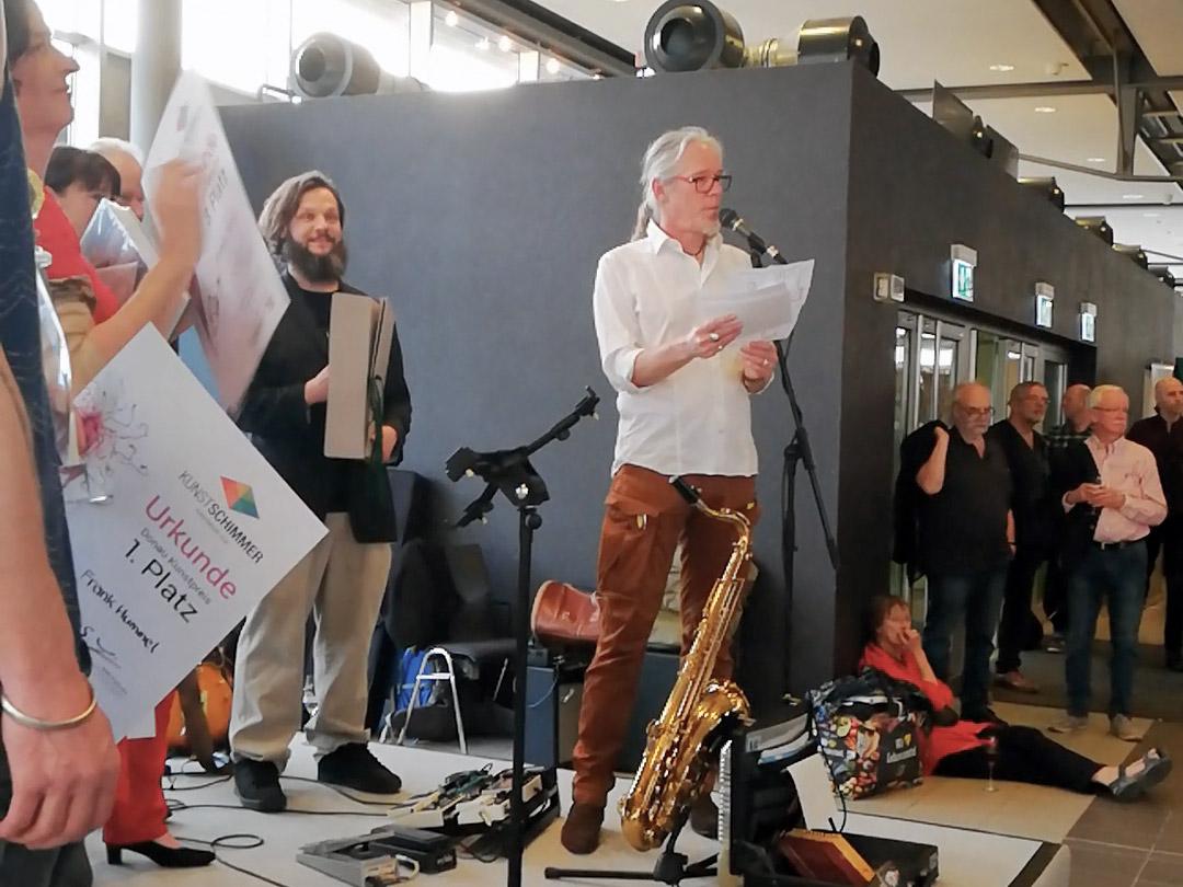Eröffnung Kunstschimmer6 Ulm 2018