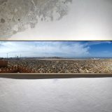 Tage am Meer, 2015, Panoramafotografie (Sale/Rabat); Pigmentdruck auf Bütten, 51 x 203 cm (inkl. Rahmen), 1/10